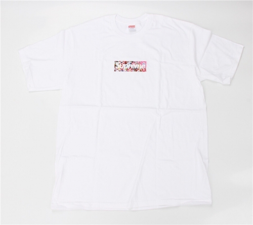 Free Shipping 1:1 Version Supremе x Murakami Covid-19 Relief Fund Box Logo T-Shirt Tee White